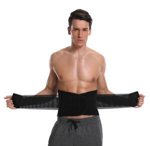 45d4bb4340 Men s Hot Neoprene Waist Belt Sweat Trainer Slimming Trimmer Belt ...