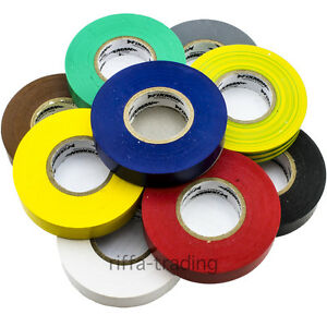19mm Insulation Tape, Electrical Insulating PVC Roll, Flame Retardant,Repair,33m