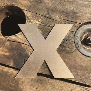 """5"""" X Rustique En Métal Doré Lettre Home Maison Signe Lettrage Mot Boho Intérieur-afficher Le Titre D'origine Adopter Une Technologie De Pointe"""