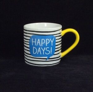 Happy-Jackson-UK-Happy-Days-Mug-Wild-Wolf-Stripes-Yellow-Handle-Yeah-Msg-Inside