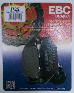 Honda-CB125R-CB-125-R-2018-EBC-Organic-REAR-Brake-Disc-Pads-FA629