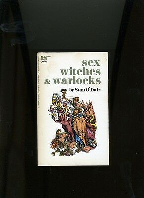 PULP SEX  STUDIES. SEX WITCHES AND WARLOCKS.O'DAIR.BRANDON HSE. 1966.1ST RARE VG