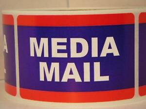 Image is loading Media-Mail-USPS-2x3-Stickers-Shipping-Mailing-Labels-