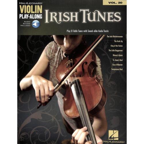 Musiknoten Irish Tunes Violin Play-Along 20 Violine Noten