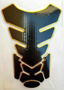 Tankpad Tankschutz Motorrad Carbon Optik Schwarz universal