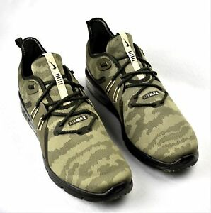 NIKE AIR MAX SEQUENT 3 PREMIUM CAMO MEN S RUNNING SHOES OLIVE BEACH ... bf9b68563