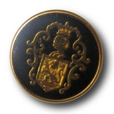 0943ma Wappen Knöpfe für Blazer /& Sakkos 5 klassische schwarz goldfb