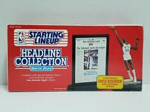 DAVID ROBINSON SPURS NBA Starting Lineup 1992 SLU HEADLINE COLLECTION Figure NEW
