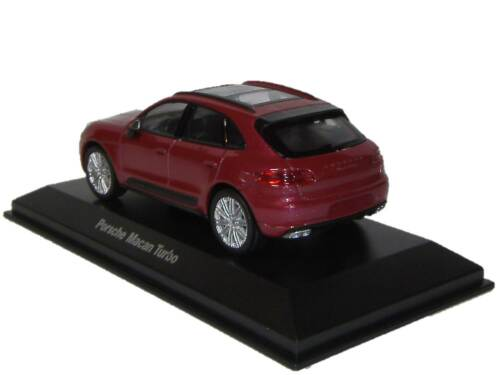 MAP01995315 2015 Porsche Macan Turbo impulsrot Welly 1:43 fabrikneu