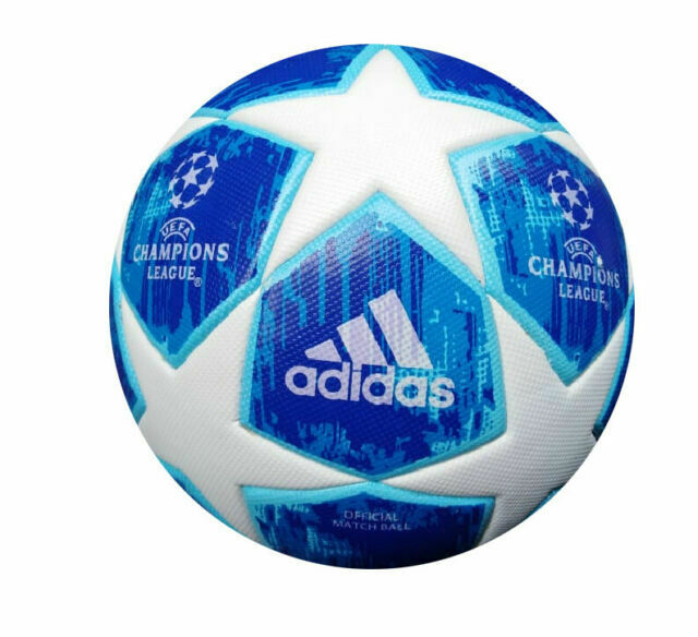 adidas uefa champions league 2018 2019 finale official match ball white blue for sale online ebay adidas uefa champions league 2018 2019 finale official match ball white blue