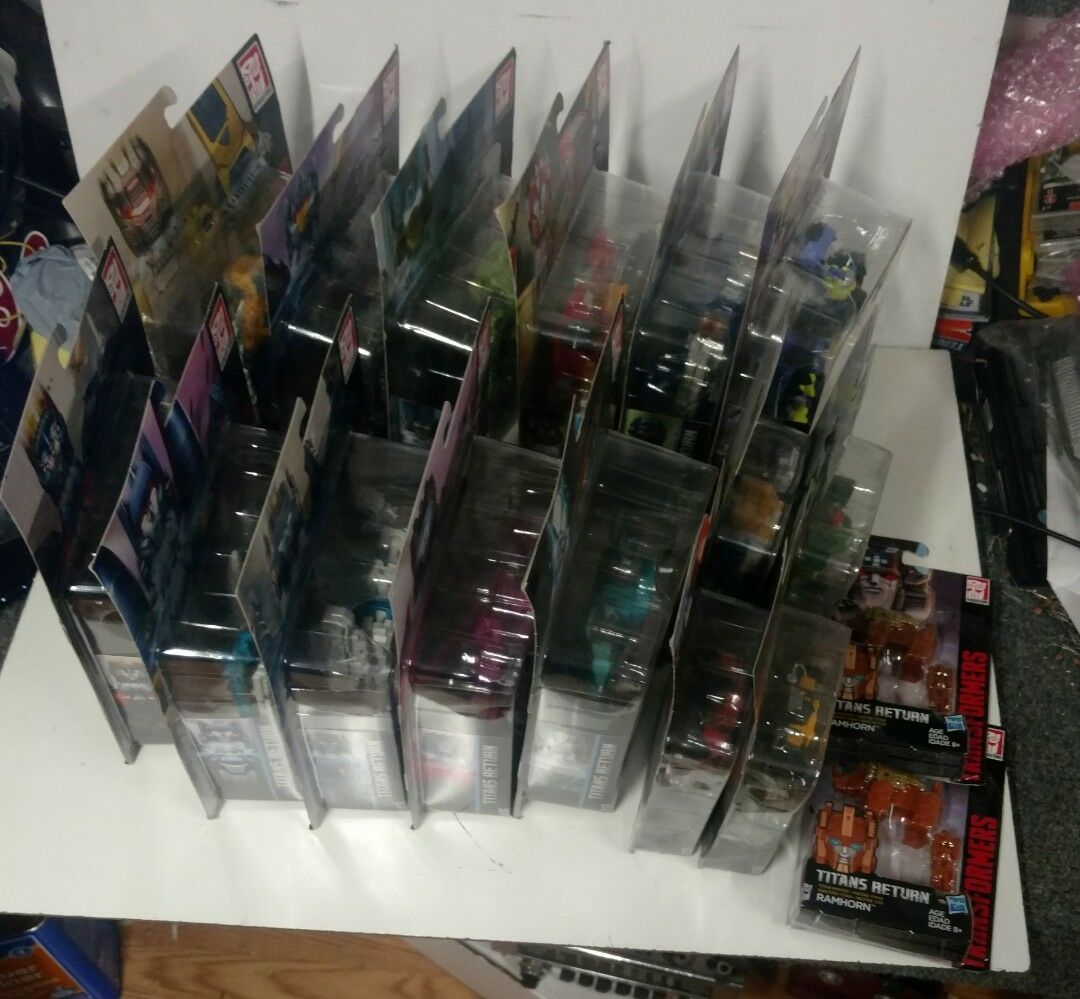 Transformers Lote De devolución Titanes. Twintwist fallo Slugslinger WINDBLADE y más
