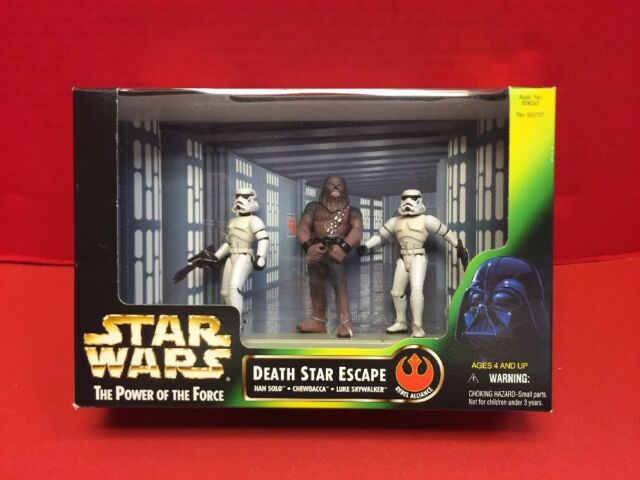 STAR WARS 1997 Potf Vintage Style Chewbacca ~ Death Star Escape CINEMA Pack