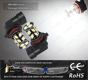 LED-SMD-HB4-9006-Xenon-White-6000k-Fog-DRL-Bulbs-Daytime-Lamps-Car-Lights-12v