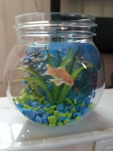 """FAUX PET FISH BOWL FOR 18/"""" DOLL AMERICAN GIRL DOLL"""