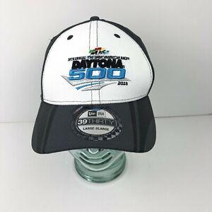 New Era 39Thirty Nascar 2016 Daytona 500 Fitted Large/XLarge Hat New