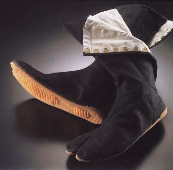 Ninja Shoes, Jikatabi Boots, Rikkio Martial Art Black Ninja Outdoor Tabi Boots