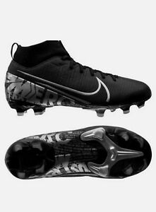 Nike-Mercurial-Superfly-7-VII-engins-fixes-Youth-Boys-Football-Crampons-AT8120-001-Taille-4-5Y