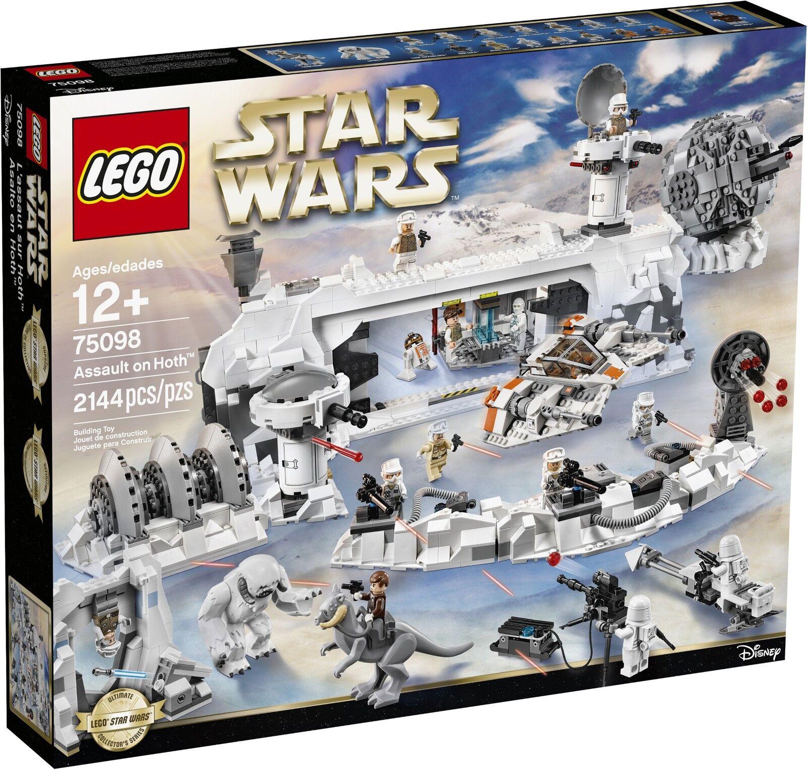 LEGO ® Star Wars ™ 75098 Assault On Hoth ™ Nouveau neuf dans sa boîte _ NEW En parfait état, dans sa boîte scellée Boîte d'origine jamais ouverte A-Condition
