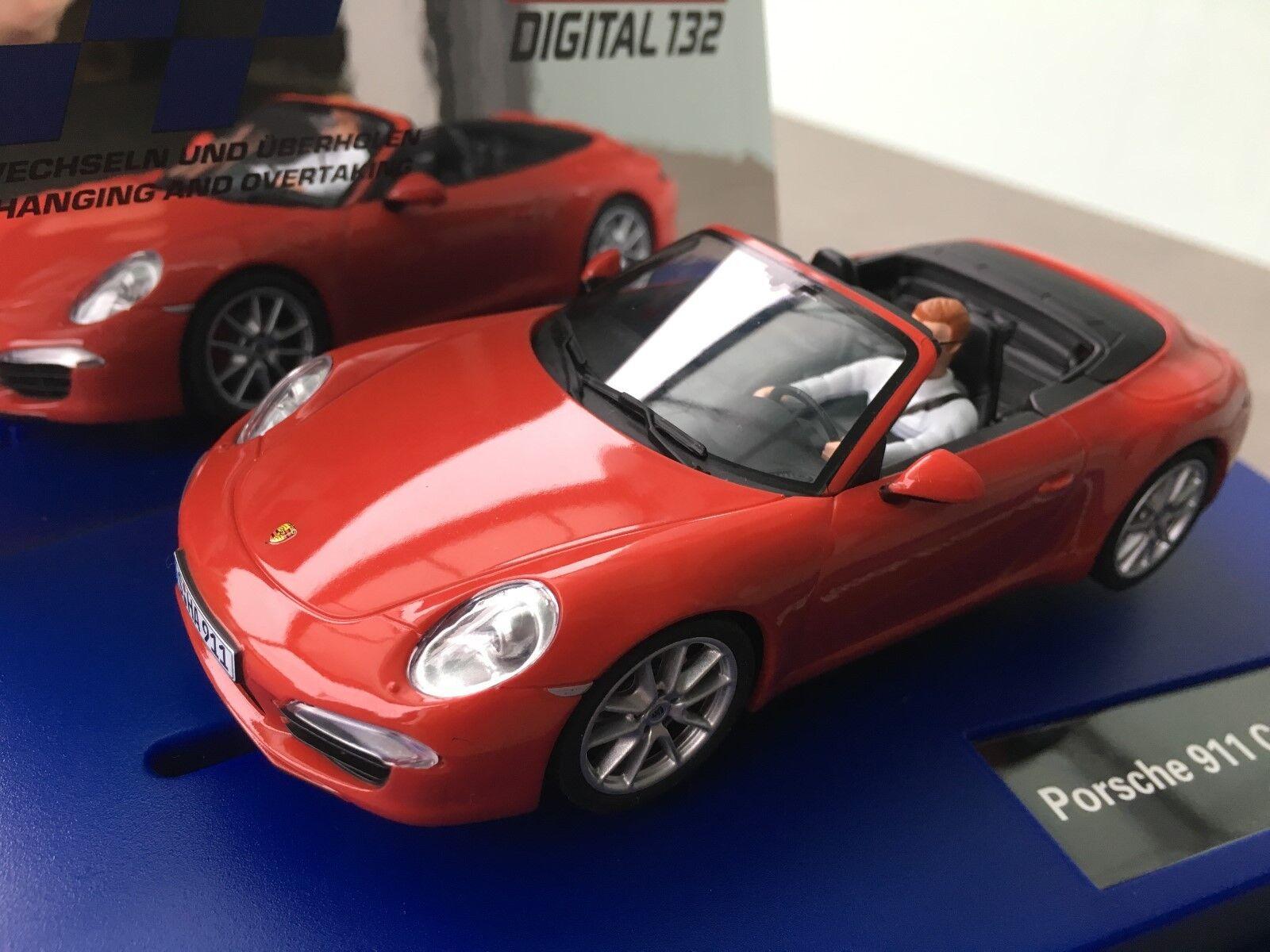 Carrera Digital 132 30772 Porsche 911 CARRERA S Cabriolet Nip