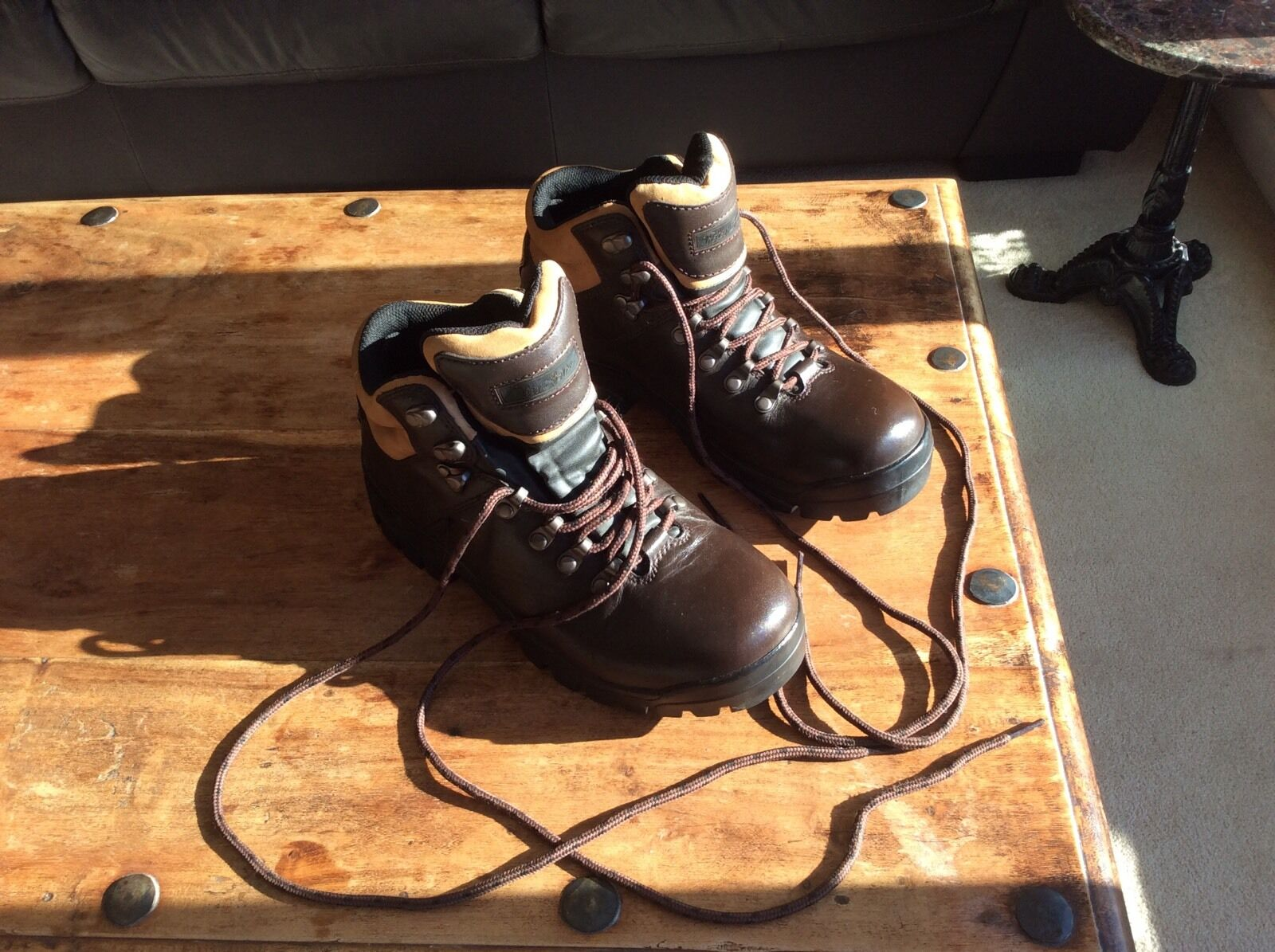 Women's, Peter Storm, Skiddaw, Leather, Hiking Boots, (Size 7) - Little Used