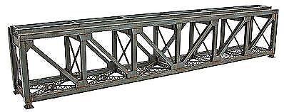 WALTHERS CORNERSTONE HO SCALE 109/' 1-TRACK PRATT DECK TRUSS BRIDGE KIT 933-4520