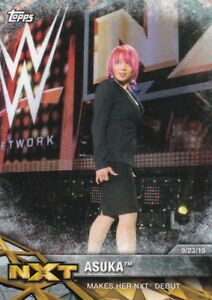 2017 Topps WWE Women's Division Walker, momments # nxt-4 Asuka 							 							</span>