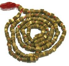 TULSI TULASI JAPA MALA Bead Hindu Japa Meditation Yoga Necklace Rosary 108