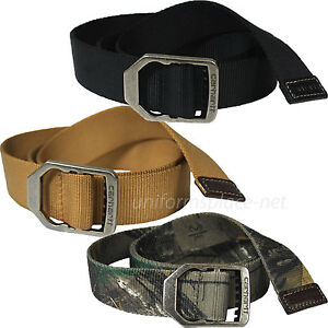 Carhartt Belt Mens Nylon Web Belt Metal Buckle 22500 Brown c25d1bf94c8e