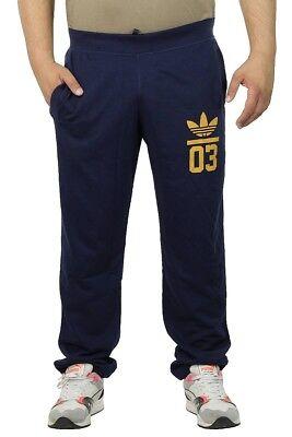 Adidas Originals 3Foil Pantalon de Survêtement Hommes Jogging S18609 Bleu Marine | eBay