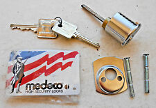 HIGH SECURITY     MEDECO  mortise  lock cylinder  with2 keys and card