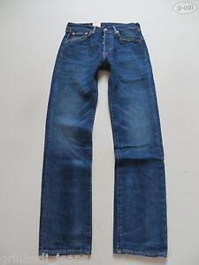 Levi-039-s-501-Jeans-Hose-W-28-L-32-NEU-Original-Fit-Water-lt-Less-Denim-RAR