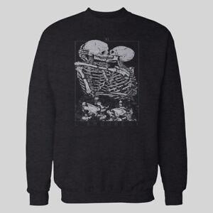 Skeletons Options Halloween Kissing Oldskool Winter Sweater many 6SxxYZw