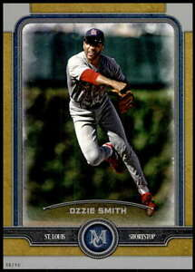 Ozzie-Smith-2019-Topps-Museum-5x7-Gold-89-10-Cardinals