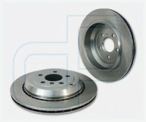 2-Bremsscheiben-MERCEDES-R-GL-X164-M-Klasse-W164-ML-hinten-Hinterachse-Durchmes