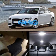 17Pcs Durable Interior LED Package White Light Kit For 1998-2001 Audi A4 S4 B5
