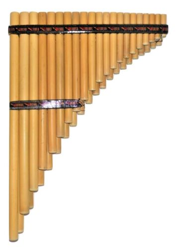 PAN FLUTE-RAMOS   ZAMPONA CHROMATIC   41  PIPES CASE INCLUDED