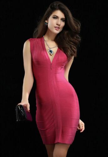 Stilvoll Vip Abend Frau Hülle Kleid Mädchen Mini kleid Anhänger Modellieren z5wd0dq