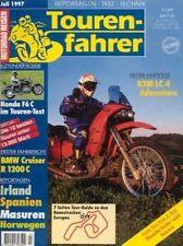 TF9707 + Test HONDA F6 C Valkyrie + KTM LC4 620e Adventure + Tourenfahrer 7/1997