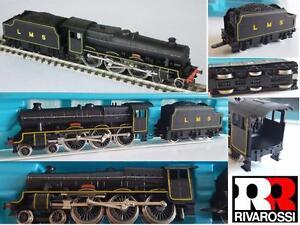 RIVAROSSI-RARE-VINTAGE-LMS-Jubile-4-6-0-Vapeur-Locomotives-N21-Renommee-BOITE