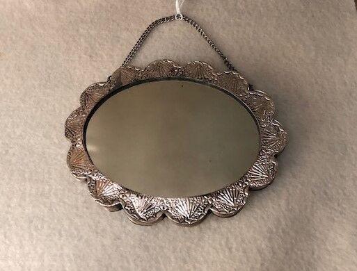 Vintage 925 Sterling Turkish Wedding Mirror - image 12