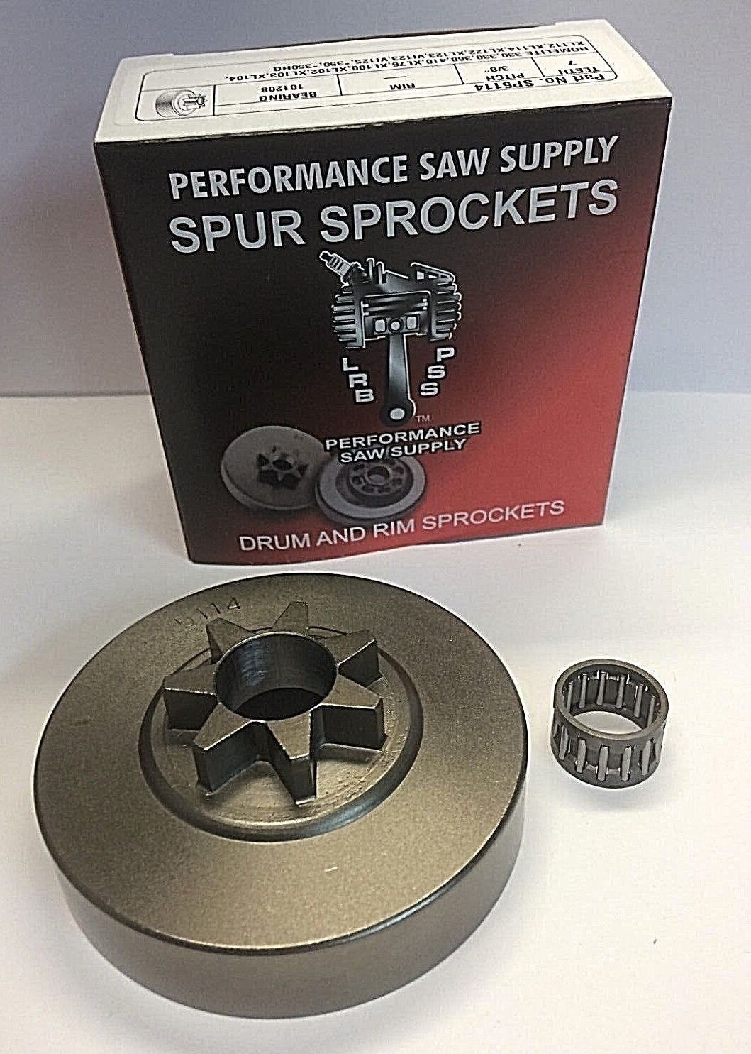 """Oregon 30688 Spur Sprocket WITH Bearing 3//8"""" x 7T  Replaces HOMELITE A 95465"""