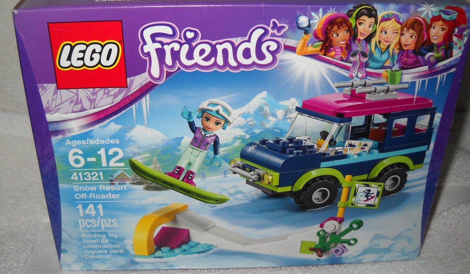 9724 NRFB LEGO Friends Snow Resort Off Roader Model  41321