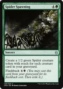 SPIDER-SPAWNING-Commander-Anthology-MTG-Green-Sorcery-Unc
