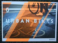 BRAND NEW~SCOTT 2015 URBAN, ELECTRIC E BIKES & HELMETS 28 GLOSSY PAGE CATALOGUE