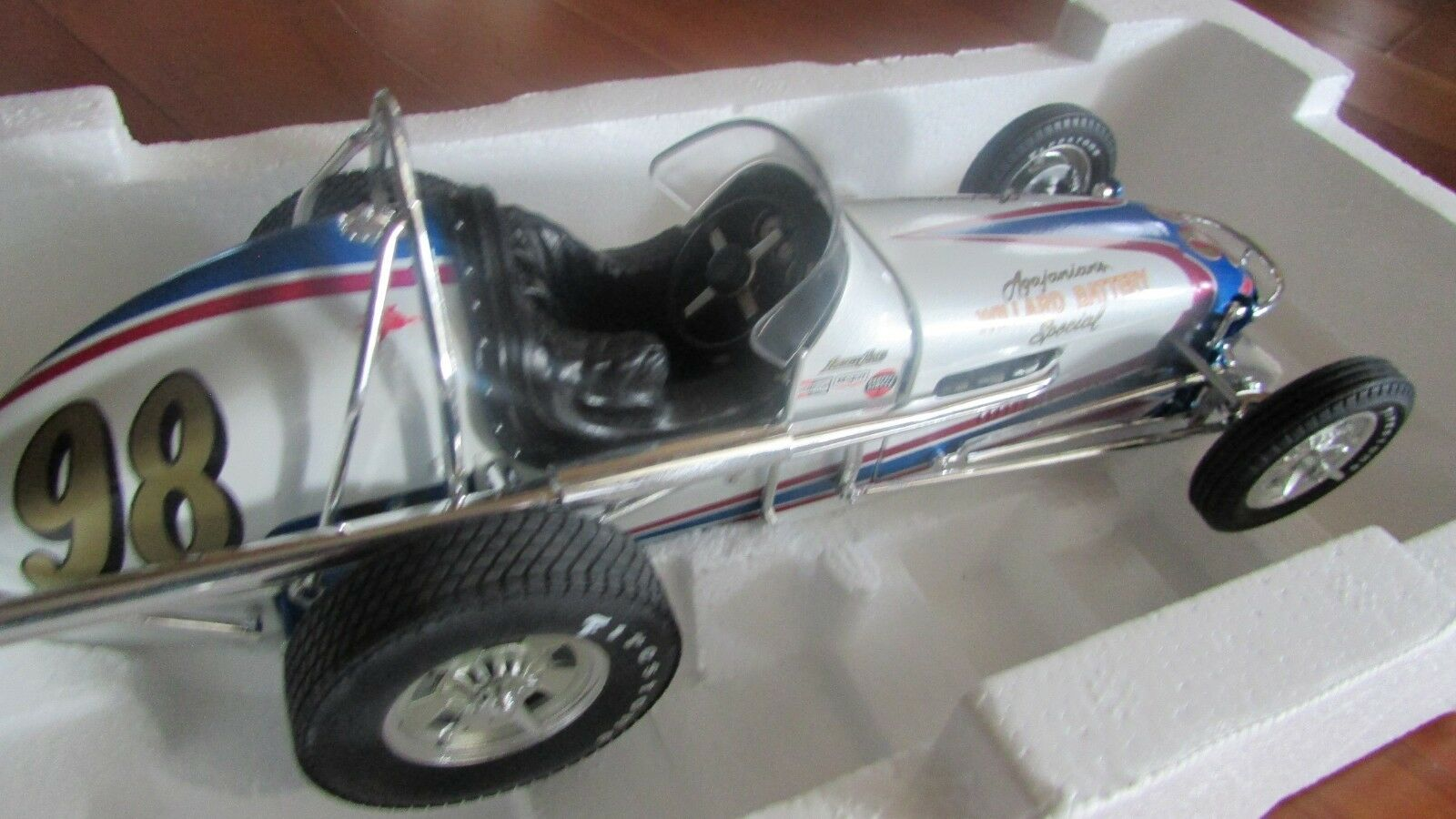 GMP Parnelli Jones dirt Champ Champ Champ race car Willard Battery Spl 1:18  vintage series c42c15