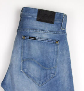 LEE Hommes Clark Slim Jeans Jambe Droite Taille W31 L34 AOZ1016