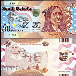 ACC STATE NOTE SERIES: NEVADA POLYMER FANTASY ART BILL G