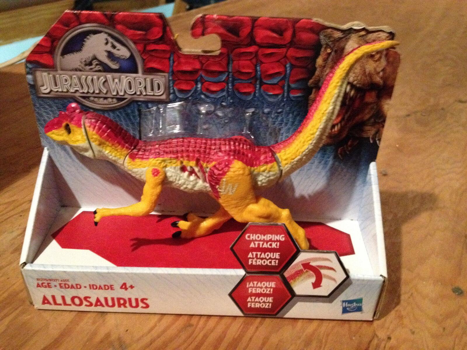 NEW     Hasbro Jurassic World Chomping ALLOSAURUS