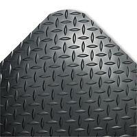 Crown Industrial Deck Plate Anti-fatigue Mat Vinyl 24 X 36 Black Cd0023db on Sale