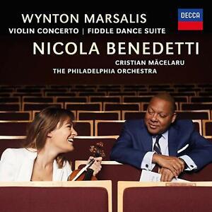 Nicola-Benedetti-Wynton-Marsalis-Violin-Concerto-CD-Sent-Sameday